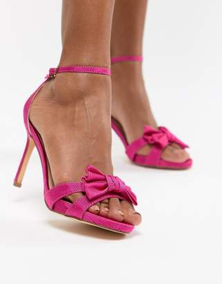 Coast Bow Sandal Heel Shoes