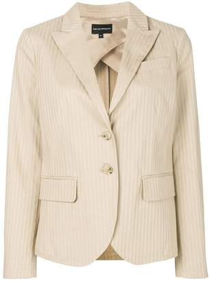 Emporio Armani classic notch collar blazer