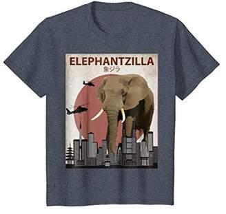 Elephantzilla | Funny African Bush Elephant T-Shirt Gift