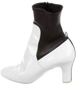 Louis Vuitton Patent Sock Booties