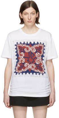 Valentino White Bandana Logo Shirt