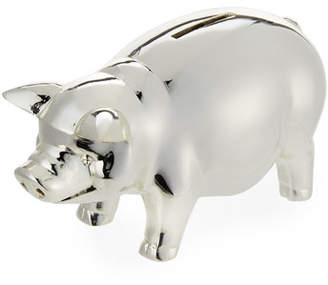 Reed & Barton Classic Silver-Plated Piggy Bank