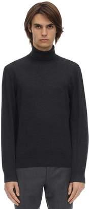 Ermenegildo Zegna Wool Knit Turtleneck Sweater