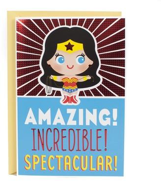 """Hallmark Birthday """"Wonder Woman"""" Greeting Card"""