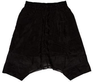 Julius Drop-Crotch Jogger Shorts