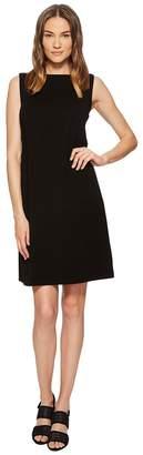 Eileen Fisher Bateau Neck Shift Dress Women's Dress