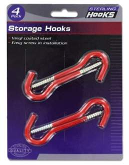 Sterling Storage Hooks (Pack Of 24)