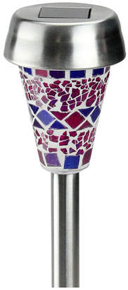 Northlight Mosaic Solar Light with Led Light and Lawn Stake