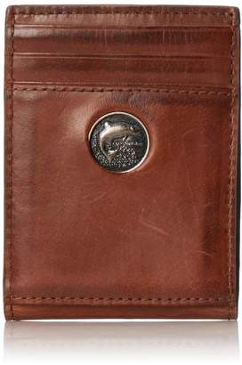 Weber's Leathers Men's Front Pocket Wallet with Money Clip