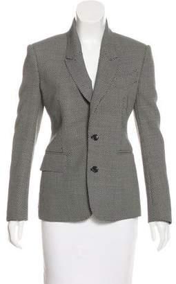 Tom Ford Wool Button-Up Blazer