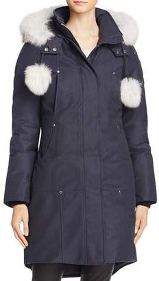 Moose Knuckles Stirling Fox Fur Down Parka
