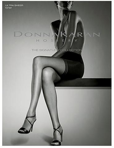 Donna Karan Hosiery The Signature Collection Ultra-Sheer Toner Pantyhose Panty Hose