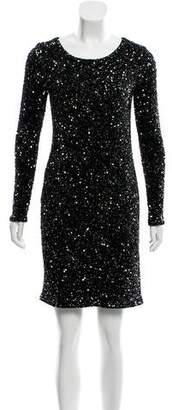 Haute Hippie Embellished Long Sleeve Dress w/ Tags