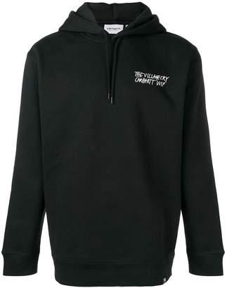 Carhartt Heritage logo print hoodie