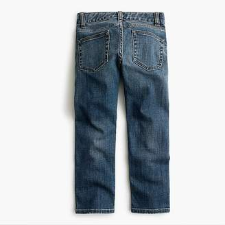 J.Crew Boys' rugged wash denim in slim fit