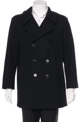 Saint Laurent 2015 Wool Peacoat