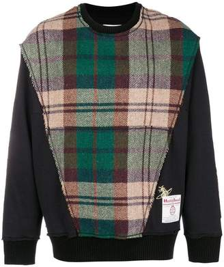 Vivienne Westwood check knit sweater