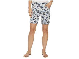Jag Jeans Ainsley Pull-On 8 Floral Print Twill Shorts Women's Shorts