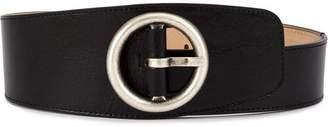 Ann Demeulemeester porthole buckle belt