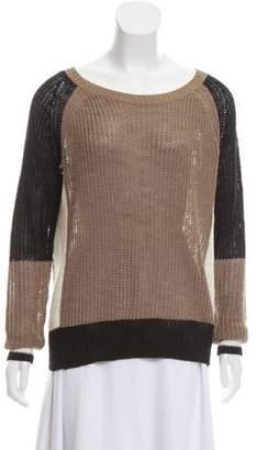 360 Cashmere Colorblock Cashmere Sweater