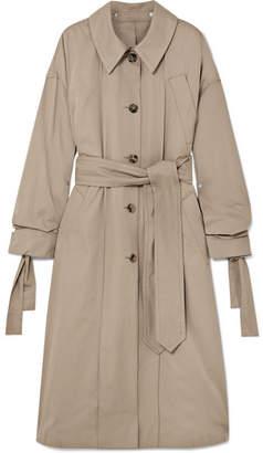 BEIGE Rokh - Oversized Cotton-gabardine Trench Coat