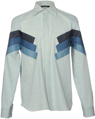 Neil Barrett Denim shirts - Item 42623988BX