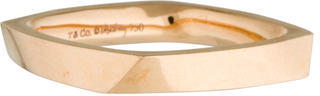 Tiffany & Co. 18K Frank Gehry Torque Ring $595 thestylecure.com