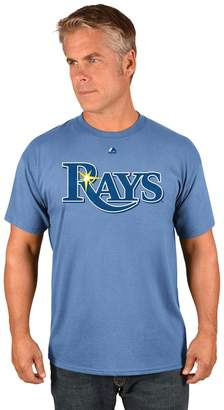 Majestic Men's Tampa Bay Rays Official Wordmark Tee