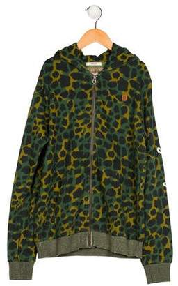 Scotch Shrunk Boys' Printed Zip-Up Jacket