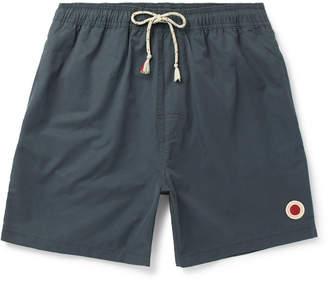 Mollusk - Long-Length Cotton-Blend Swim Shorts