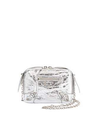 Balenciaga Classic Reporter XS Chain Lamb Leather Crossbody Bag