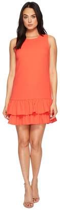 CeCe Macara - Sleeveless Ruffle Hem Dress Women's Dress