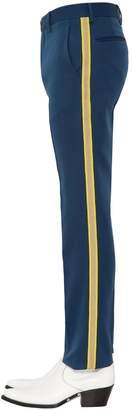 Calvin Klein Side Bands Uniform Wool Pants