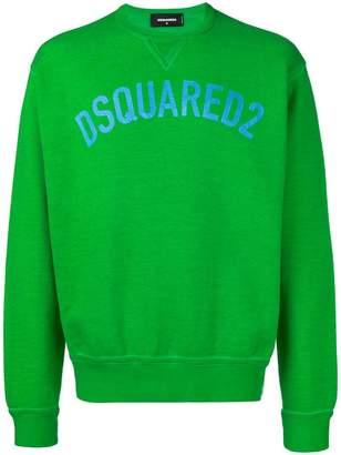 DSQUARED2 logo crewneck sweatshirt