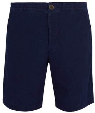 Oliver Spencer Kildale Mid Rise Cotton Shorts - Mens - Navy