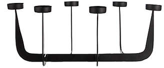 John Lewis Forged Iron Tealight Candelabra, Black