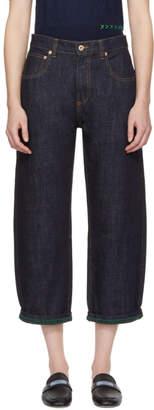 Carven Indigo Large Jeans