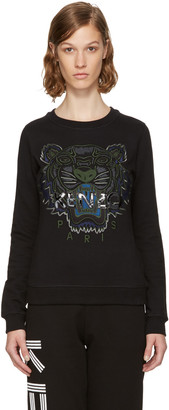 Kenzo Black & Green Tiger Sweatshirt $270 thestylecure.com