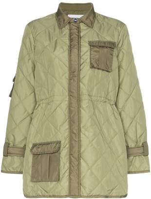 Ganni Aspen quilted jacket