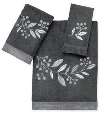 Madison Hand Towel in Granite