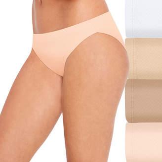 Hanes Ultra Light Breathable 4 Pair Jersey Bikini Panty 42ulbk