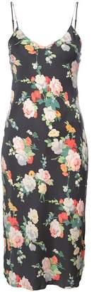 Nili Lotan Floral Slip Dress