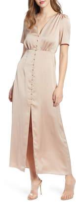 Leith Front Button Maxi Dress