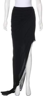 Helmut Lang Asymmetrical Maxi Skirt