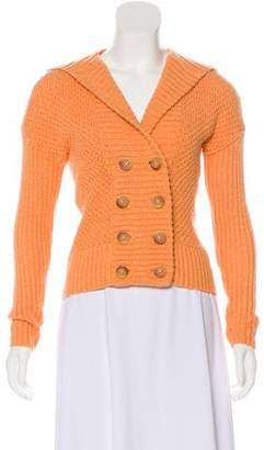 Magaschoni Hooded Knit Cardigan