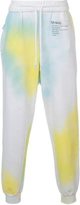 Off-White x The Webster tie-dye track pants