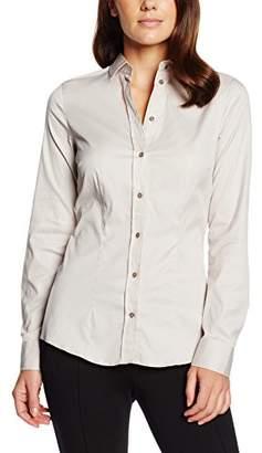 Jacques Britt Women's Regular fit Blouse - Grey - 8