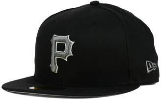 New Era Pittsburgh Pirates Black Graphite 59FIFTY Cap