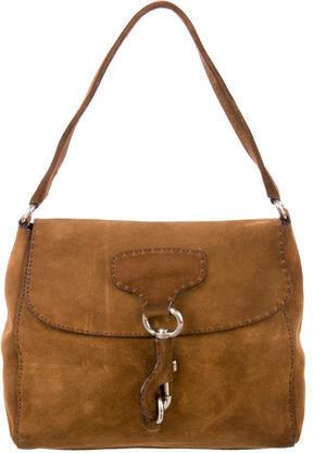 pradaPrada Scamosciato Shoulder Bag