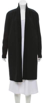 Kinross Cashmere Wool-Blend Open Front Coat w/ Tags